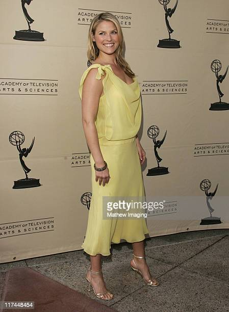 Ali Larter during The Academy of Television Arts and Sciences Presents An Evening with 'Heroes' Red Carpet at Leonard H Goldenson Theatre in North...