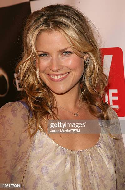 Ali Larter during The Cast Of Heroes Celebrate's Production Wrap Of Season One at The Cabana Club in Hollywood California United States