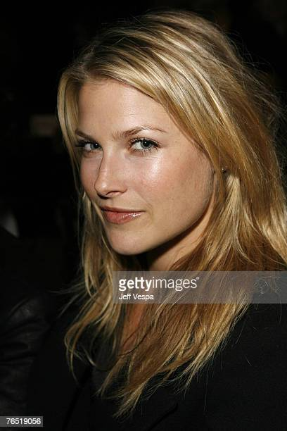 Ali Larter front row at Imitation of Christ Fall 2007