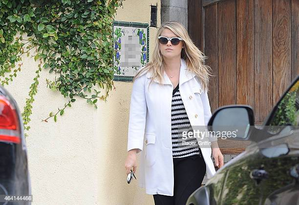 Ali Larter is seen on February 20 2015 in Los Angeles California