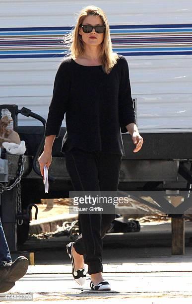 Ali Larter is seen on February 25 2014 in Los Angeles California