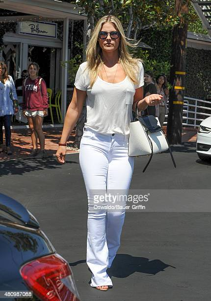 Ali Larter is seen on July 16 2015 in Los Angeles California
