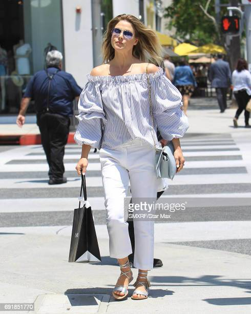 Ali Larter is seen on June 2 2017 in Los Angeles California