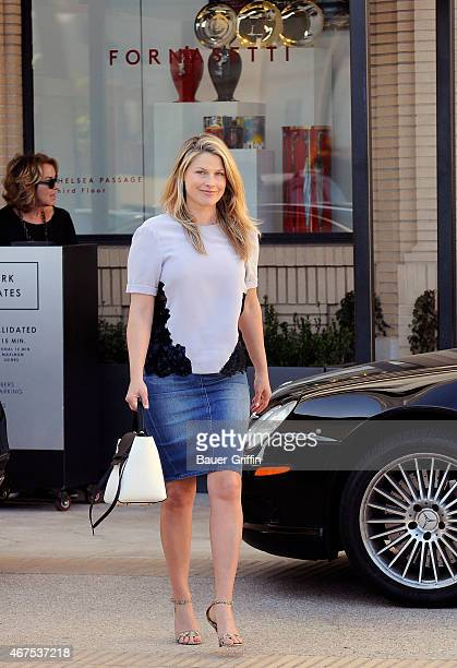 Ali Larter is seen on March 25 2015 in Los Angeles California
