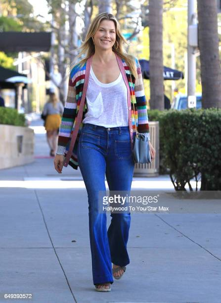Ali Larter is seen on March 7 2017 in Los Angeles CA