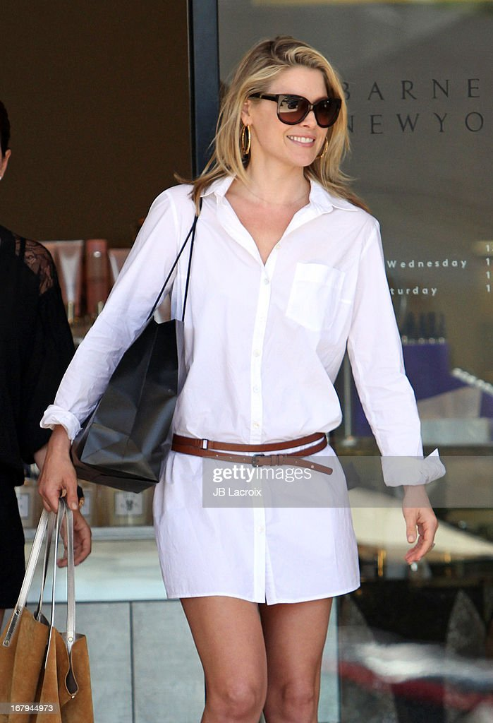 Ali Larter is seen on May 2, 2013 in Los Angeles, California.