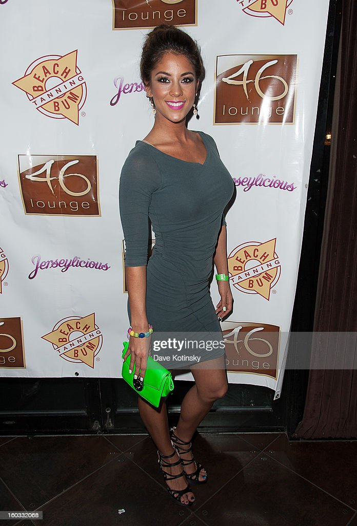 Ali Lee attends 'Jerseylicious' Season 5 Premiere Celebration at 46 Lounge on January 28, 2013 in Totowa City.