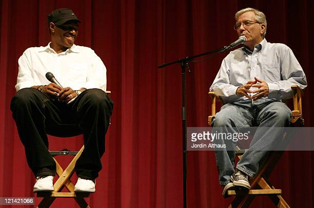 Ali LeRoi and David Wallace during 2007 Los Angeles Film Festival 'The Man' Screening at Billy Wilder Theatre in Los Angeles California United States