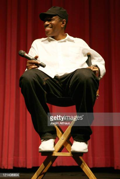 Ali LeRoi during 2007 Los Angeles Film Festival 'The Man' Screening at Billy Wilder Theatre in Los Angeles California United States