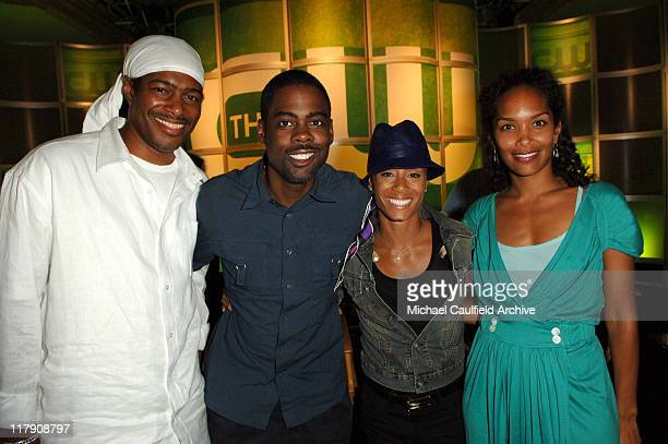 Ali LeRoi executive producer of 'Everybody Hates Chris' Chris Rock executive producer of 'Everybody Hates Chris' Jada Pinkett Smith executive...