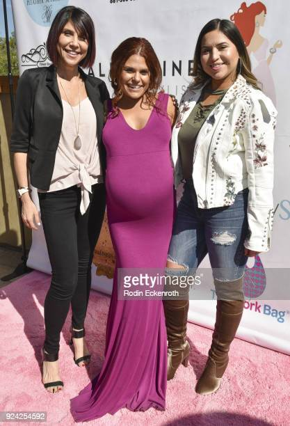 Ali Levine and guests attend BRAVO'S Stripped TV Personality and Celebrity Fashion Stylist Expert Ali Levine's Pink Carpet Baby Shower at Rockwell...
