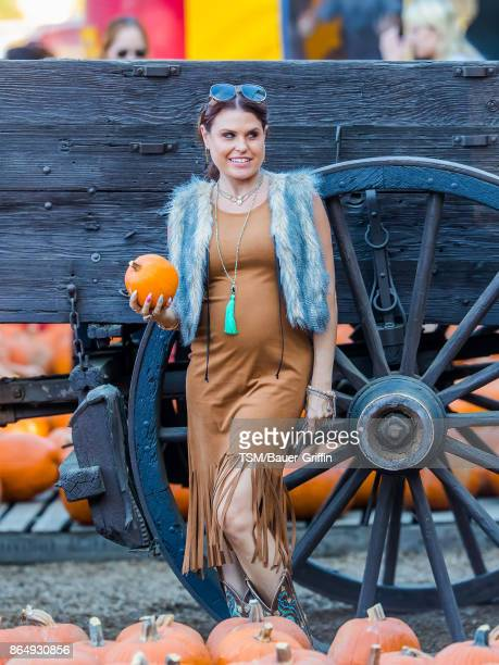 Ali Levine is seen at Pumpkin Patch on October 21 2017 in Los Angeles California