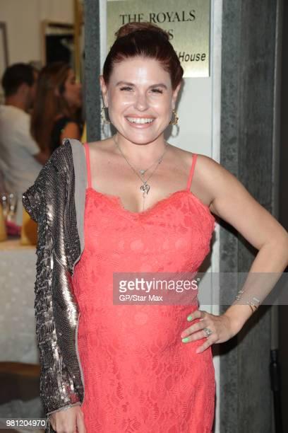 Ali Levine is seen on June 21 2018 in Los Angeles CA