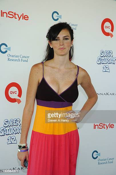 Ali Lohan attends Super Saturday 12 to Benefit Ovarian Cancer Research Fund hosted by InStyle Magazine on August 1 2009 in Watermill New York