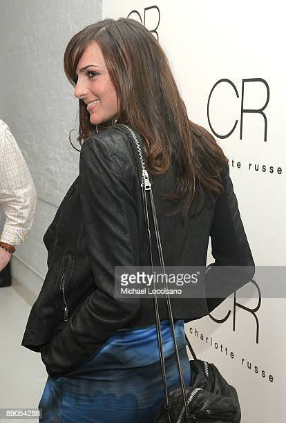 Ali Lohan attends the Charlotte Russe Fall 2009 launch event at Openhouse Gallery on July 15 2009 in New York City