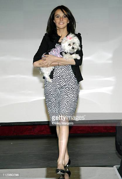Ali Lohan during 7th Annual 'Paws for Style' Benefiting Animal Medical Center of New York Runway at Crobar in New York City New York United States