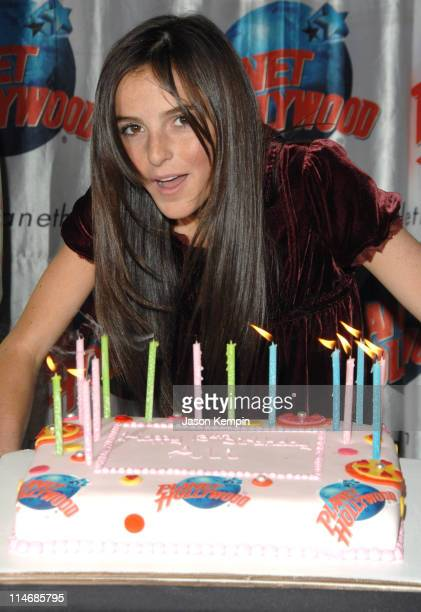 Ali Lohan during Ali Lohan Celebrates Her Debut Album 'Lohan Holiday' and Celebrates Her 13th Birthday December 22 2006 at Planet Hollywood Times...