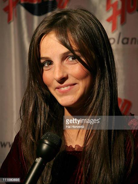 Ali Lohan during Ali Lohan Celebrates Her Debut Christmas CD 'Lohan Holiday' and Her 13th Birthday with a Handprint Ceremony at Planet Hollywood at...