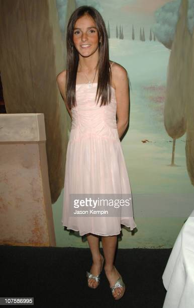 Ali Lohan during Dina Lohan Gala for New York Lifestyle Magazine 'Boulevard' October 9 2006 at Nino's Restaurant in New York City New York