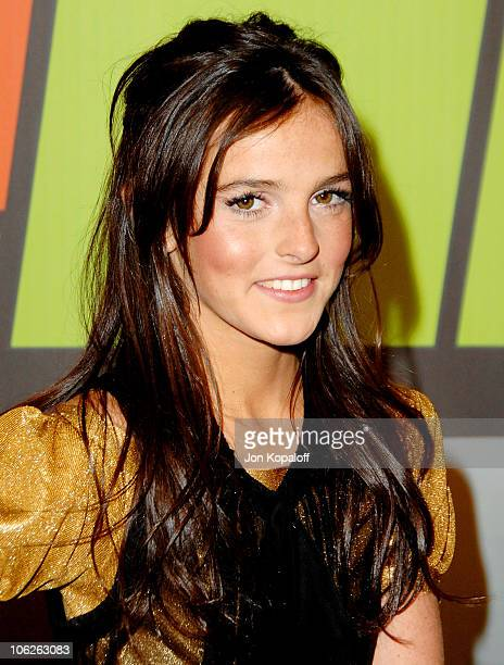 Ali Lohan during VH1 Big in '06 Arrivals at Sony Studios in Culver City California United States