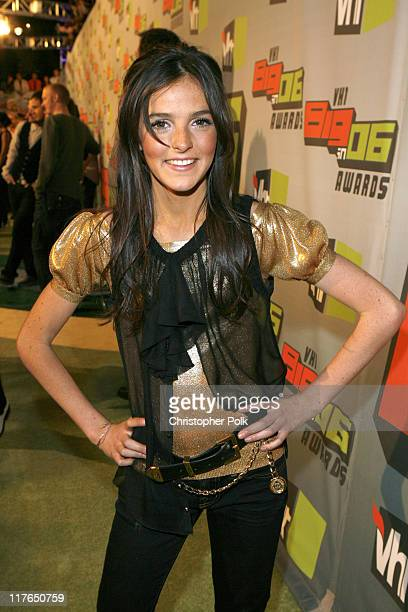 Ali Lohan during VH1 Big in '06 Red Carpet at Sony Studios in Culver City California United States