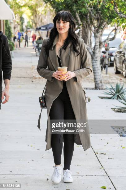 Ali Lohan is seen on February 22 2017 in Los Angeles California