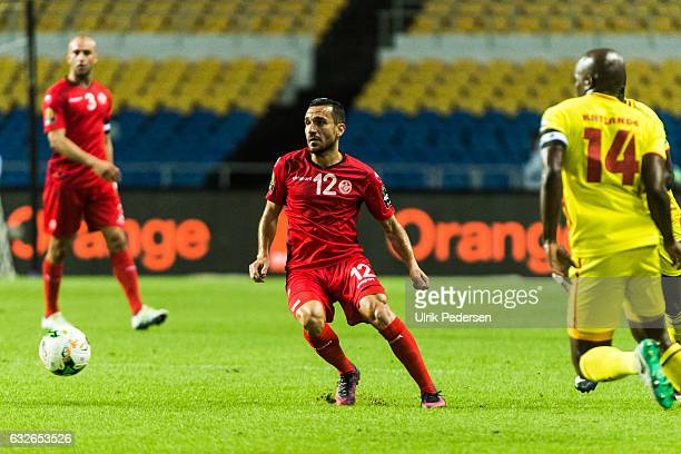 Ali Maaloul of Tunisia during the African Nations Cup match between Zimbabwe and Tunisia on January 23 2017 in Libreville Gabon