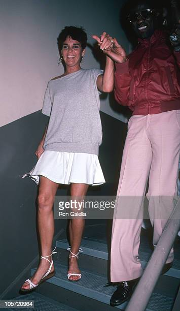 Ali MacGraw and Al Green during Backstage of 'You're Arms Are Too Short To Box With God' at Alvin Theater in New York City New York United States