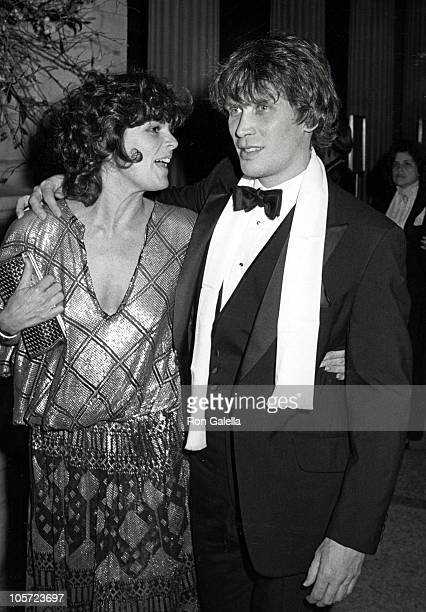 Ali MacGraw and boyfriend Peter Weller during Costume Institute Gala Presents 'Fashions of The Hapsburg Era' at Metropolitan Museum of Art in New...