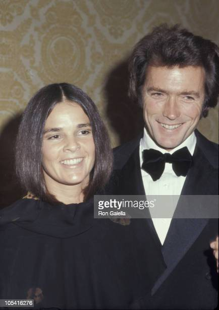 Ali MacGraw and Clint Eastwood during 1971 National Association of Theater Owners Awards at Waldorf Astoria Hotel in New York City New York United...