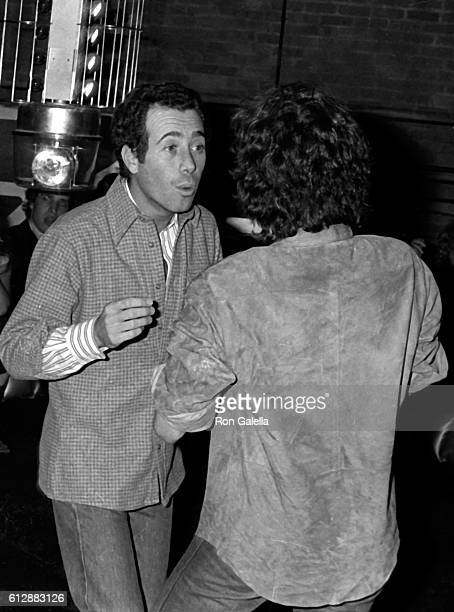 Ali MacGraw and David Geffen attend Diana Ross Opening Party on October 10 1978 at Studio 54 in New York City