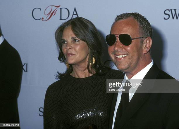 Ali MacGraw and Michael Kors during 21st Annual CFDA Awards at NY Public Library in New York City New York United States