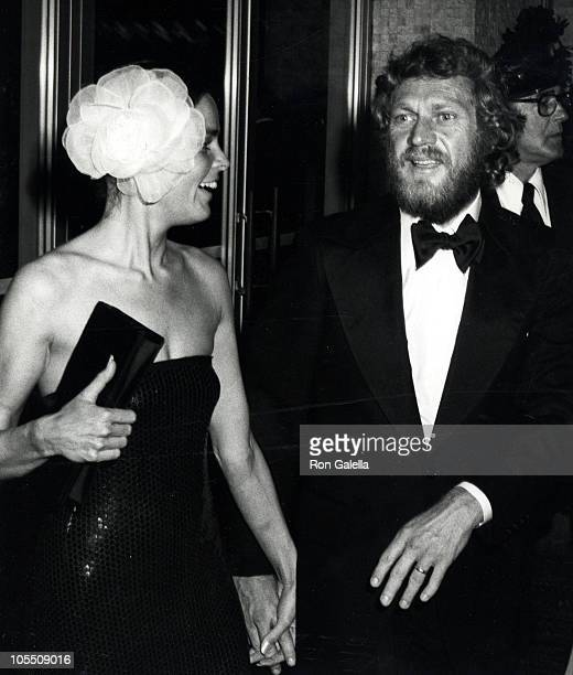 Ali MacGraw and Steve McQueen during American Film Institute Salute to James Cagney at Century Plaza Hotel in Los Angeles California United States