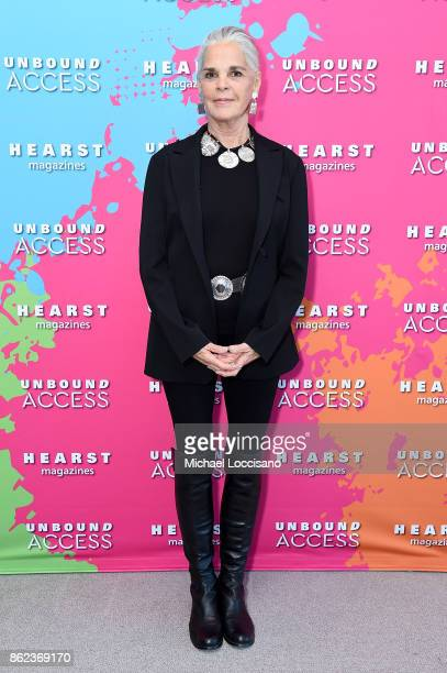 Ali Macgraw attends Hearst Magazines' Unbound Access MagFront at Hearst Tower on October 17 2017 in New York City