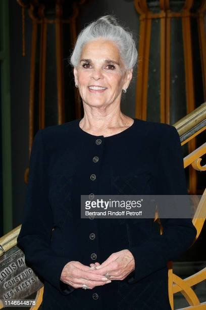 Ali MacGraw attends the Chanel Cruise Collection 2020 : Front Row at Le Grand Palais on May 03, 2019 in Paris, France.