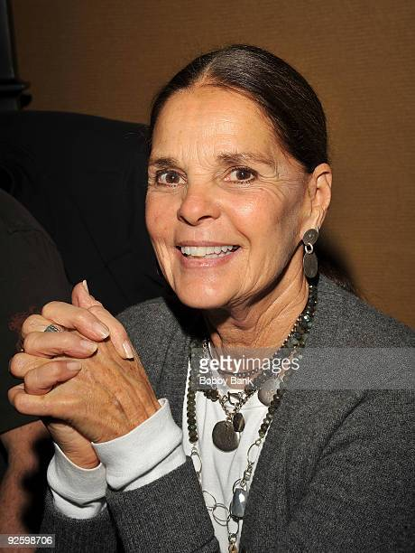 Ali Macgraw attends the Chiller Theatre Expo at the Hilton Parsippany on October 31 2009 in Parsippany New Jersey