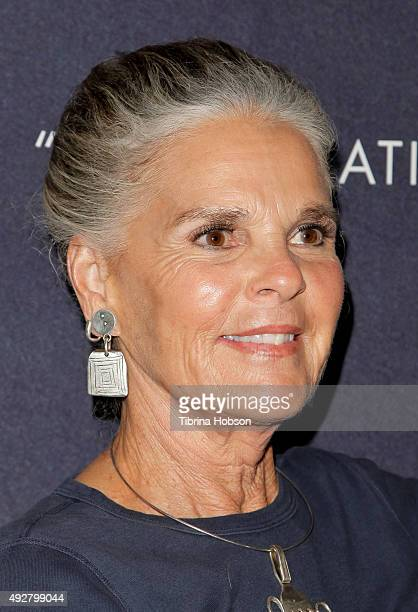 Ali MacGraw attends the curtain call for 'Love Letters' at Wallis Annenberg Center for the Performing Arts on October 14 2015 in Beverly Hills...