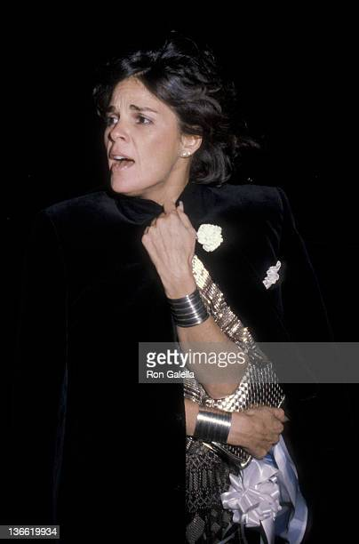 Ali MacGraw attends the Metropolitan Museum of Art Costume Institute Exhibition 'Fashions of the Hapsburg Era' on December 3 1979 at the Metropolitan...
