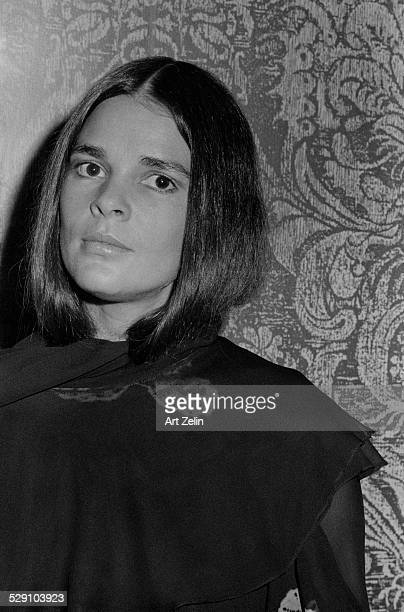 Ali MacGraw close-up; circa 1960; New York.