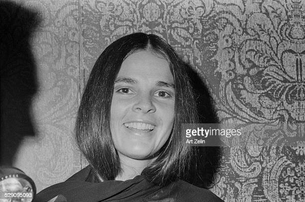 Ali MacGraw closeup circa 1970 New York