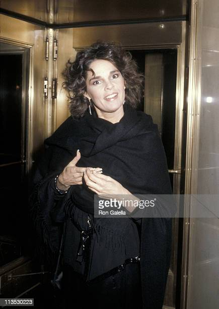 Ali MacGraw during 1979 Ladies Home Journal Women of The Year Award at Ladies Home Journal Building in New York City New York United States