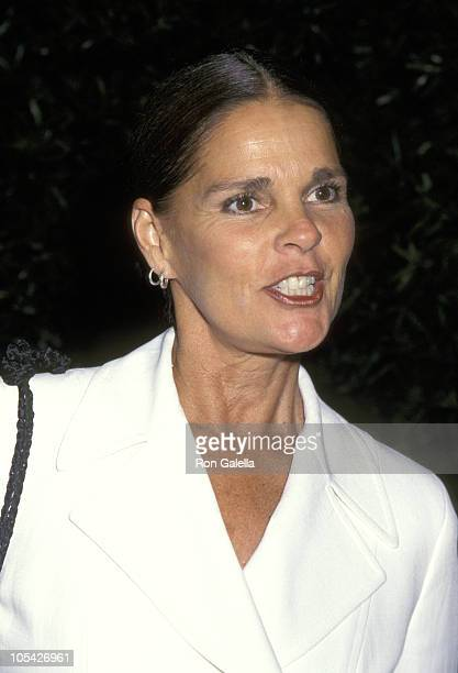 Ali MacGraw during AMC Screeing of 'The Hollywood Fashion Machine' at Equitable Center in New York City New York United States