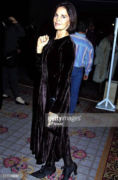 """Ali MacGraw during """"Sunset Blvd"""" Los Angeles Premiere in Los Angeles, California, United States."""