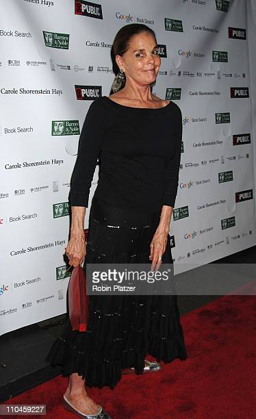 Ali MacGraw during The Public Theatres Summer Gala Honoring Meryl Streep and Kevin Kline and Opening Night of MacBeth at Central Park in New York New...