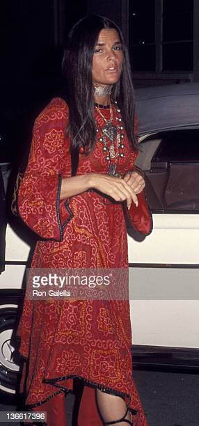 Ali MacGraw sighted on June 5 1970 at the Bistro Restaurant in Beverly Hills California