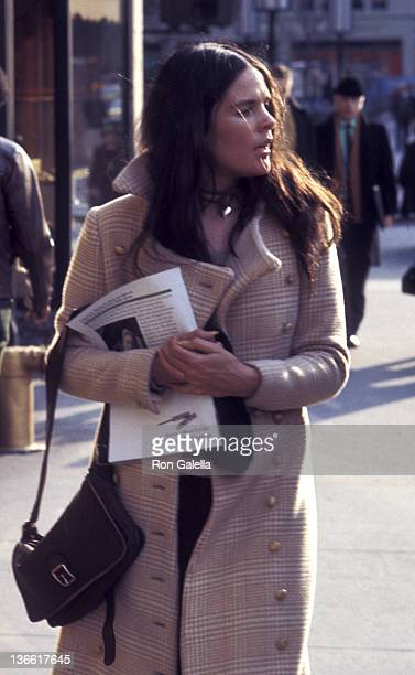 Ali MacGraw sighted on March 8, 1971 Fifth Avenue in New York City.