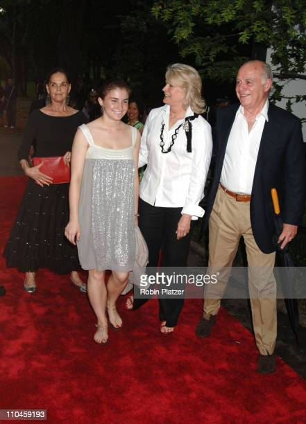 Ali MacGraw with Candice Bergen her daughter Chloe Malle and her husband Marshall Rose