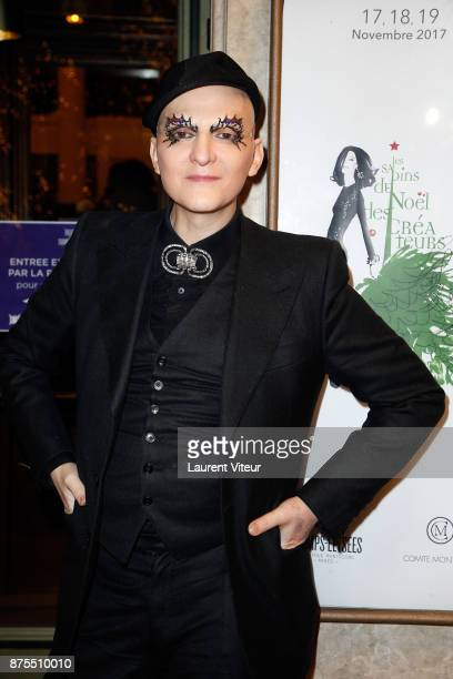 Ali Mahdavi attends 22nd Edition of 'Les Sapins de Noel des Createurs' at Theatre des Champs Elysees on November 17 2017 in Paris France
