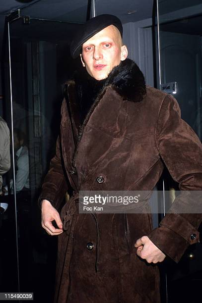 Ali Mahdavi during Hidetoshi Nakata and Zhou Xun Birthday Party Hosted by the IMG Agency at Restaurant Le Sens in Paris France