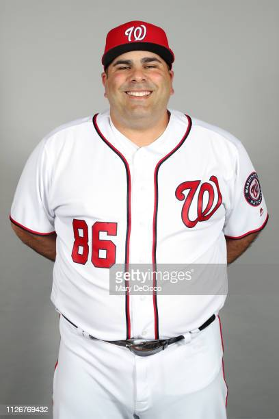 Ali Modami of the Washington Nationals poses during Photo Day on Friday February 22 2019 at the FITTEAM Ballpark of the Palm Beaches in West Palm...